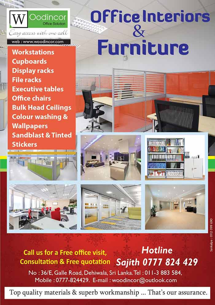 Office Interiors & Furniture WOODINCOR OFFICE SOLUTION PVT LTD One- stop service from the moment you collect your key to opening event to the new premises. #interior #furniture