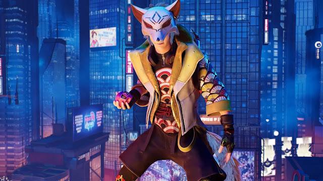 Wallpaper Elite Pass Season 25 Fabled Fox Kitsune