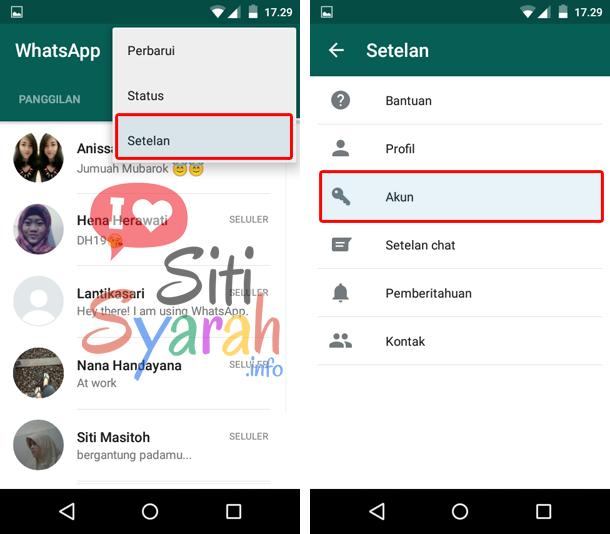 setting whatsapp tidak terlihat online