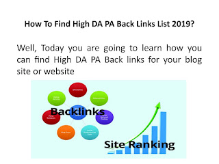 How to Make high DA, UA professional blog website
