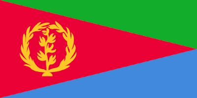 Logo Gambar Bendera Negara Eritrea PNG JPG ukuran 400 px