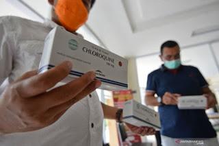 Kemenkes Prancis izinkan obat klorokuin