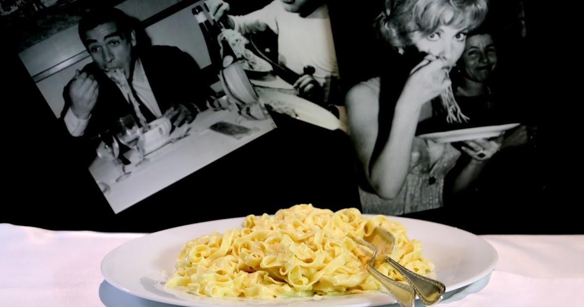Eine Pasta wie Seidenpapier: Die legendären Fettuccine Alfredo