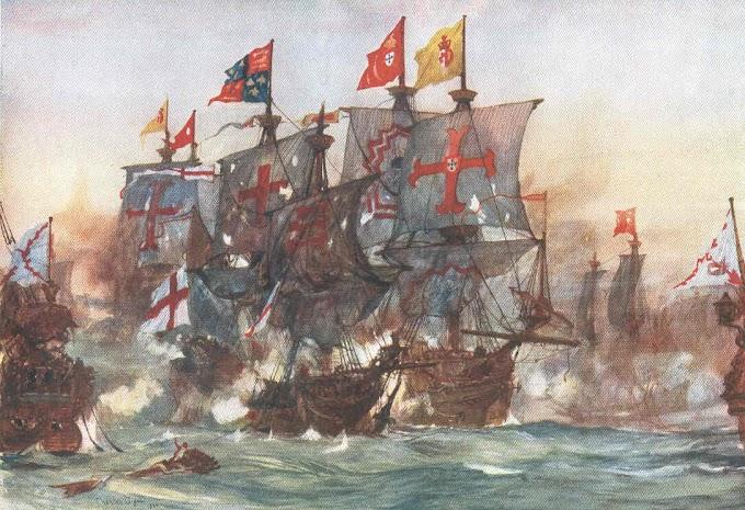 BATALLA DE FLORES, 9 de septiembre de 1591