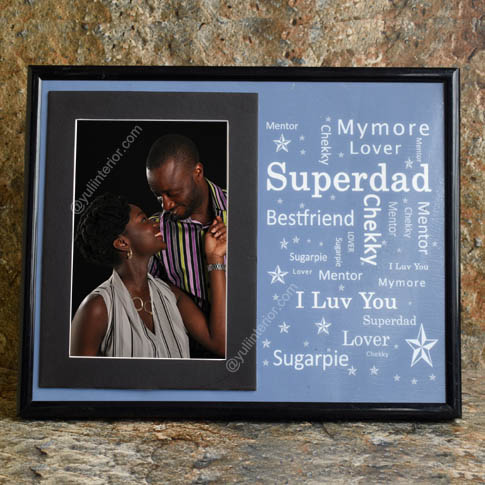 Personalised frames father's day gifts in Port Harcourt, Nigeria