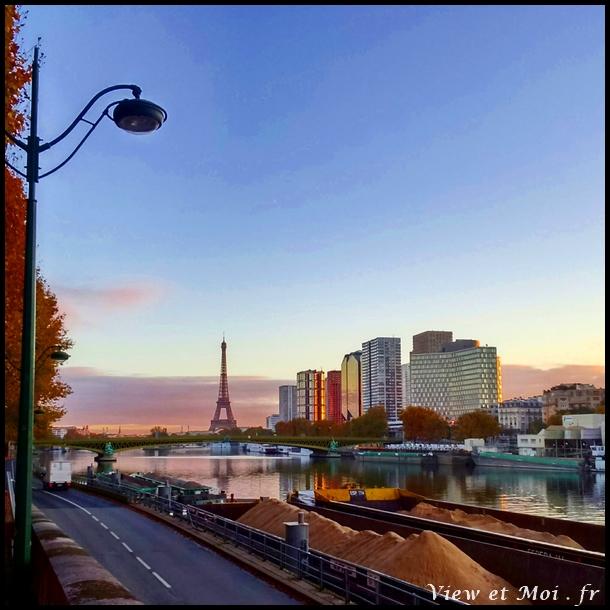 matin parisien sur les quais