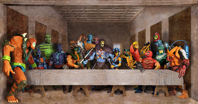 He-Man Villains Epic Last Supper by Gumley: