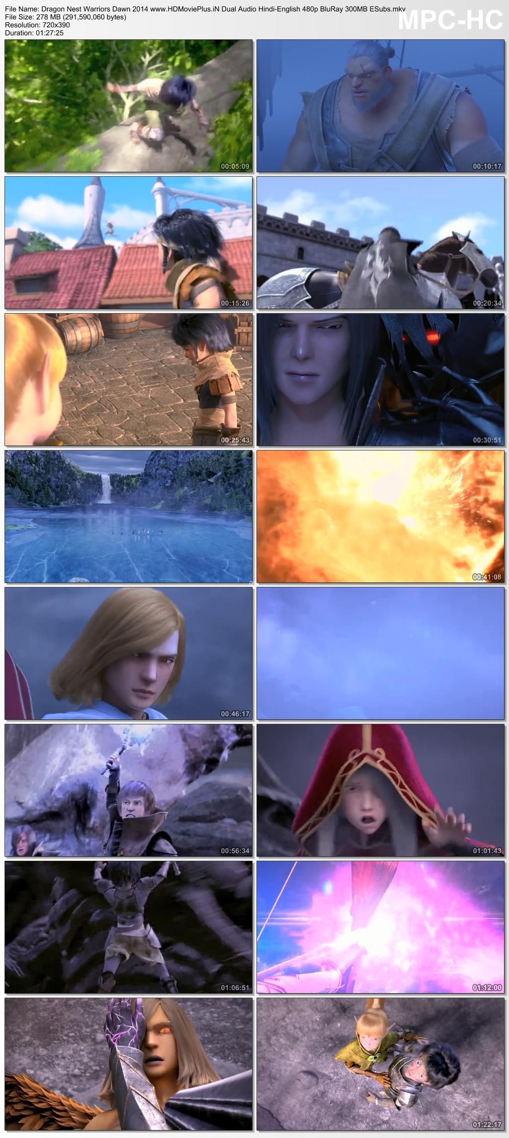 Dragon Nest: Warriors' Dawn 2014 Dual Audio