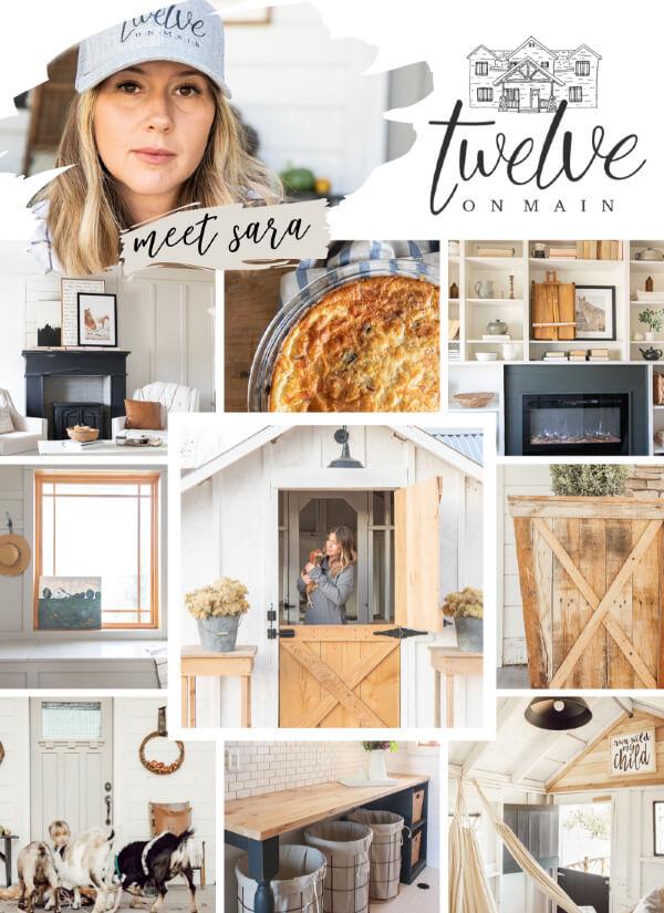 Twelve on Main blog collage