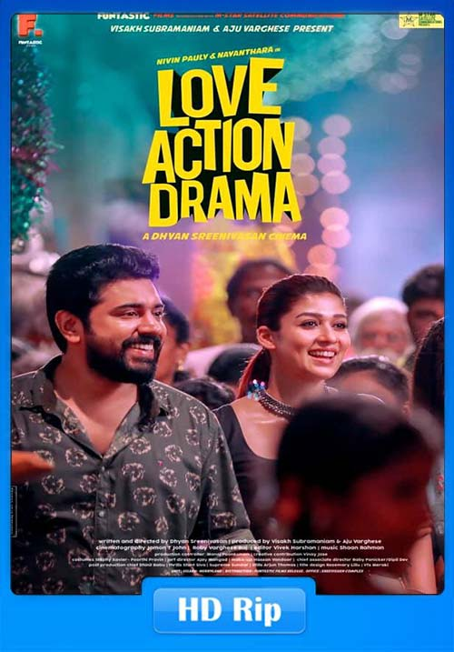 Love Action Drama 2019 Malayalam 720p Esubs x264 | 480p 300MB | 100MB HEVC