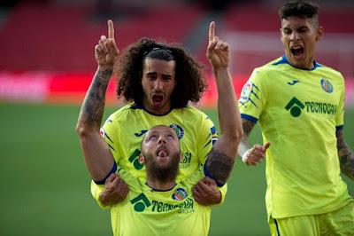 صور..مشاهد من فوز غرناطة على خيتافي في الدوري الإسباني