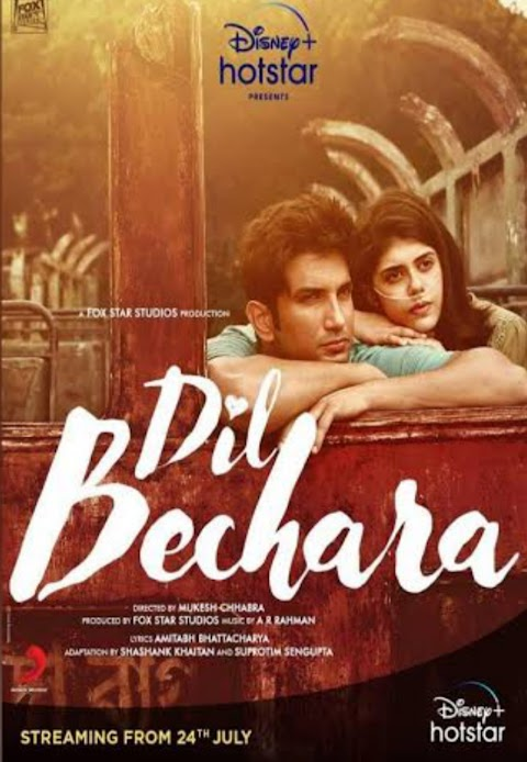Dil Bechara Full Movie 480p 720p HD | Movie64