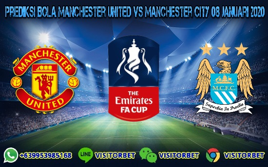 Prediksi Skor Manchester United vs Manchester City 08 Januari 2020