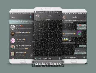 Blacker Theme For YOWhatsApp & Fouad WhatsApp By Netinho