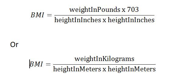 body dimension index berekenen