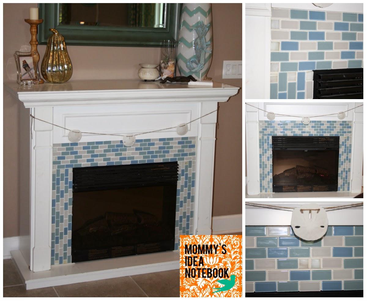 Dunham Design Company: Coastal Fireplace Makeover