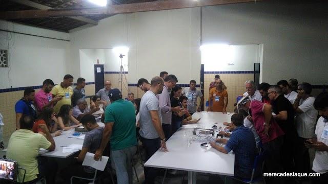 Apuração dos votos da eleição do Conselho Tutelar de Santa Cruz do Capibaribe