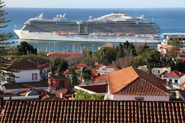 Royal Princess returns to Madeira