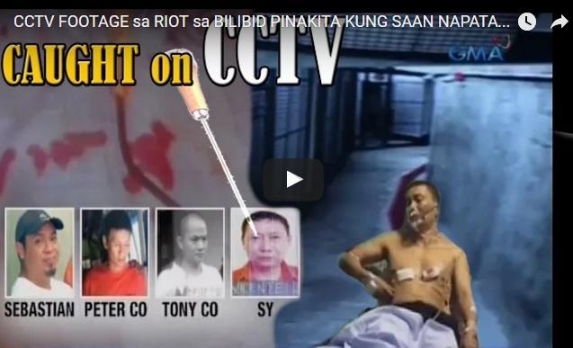WATCH: CCTV Footage Sa Riot Sa Bilibid Pinakita Kung Saan Napatay Si Tony Co, Hawak Na Ng CIDG!