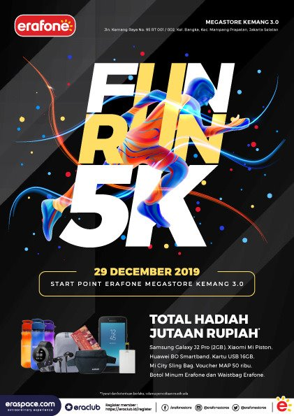 Erafone Fun Run 5K • 2019