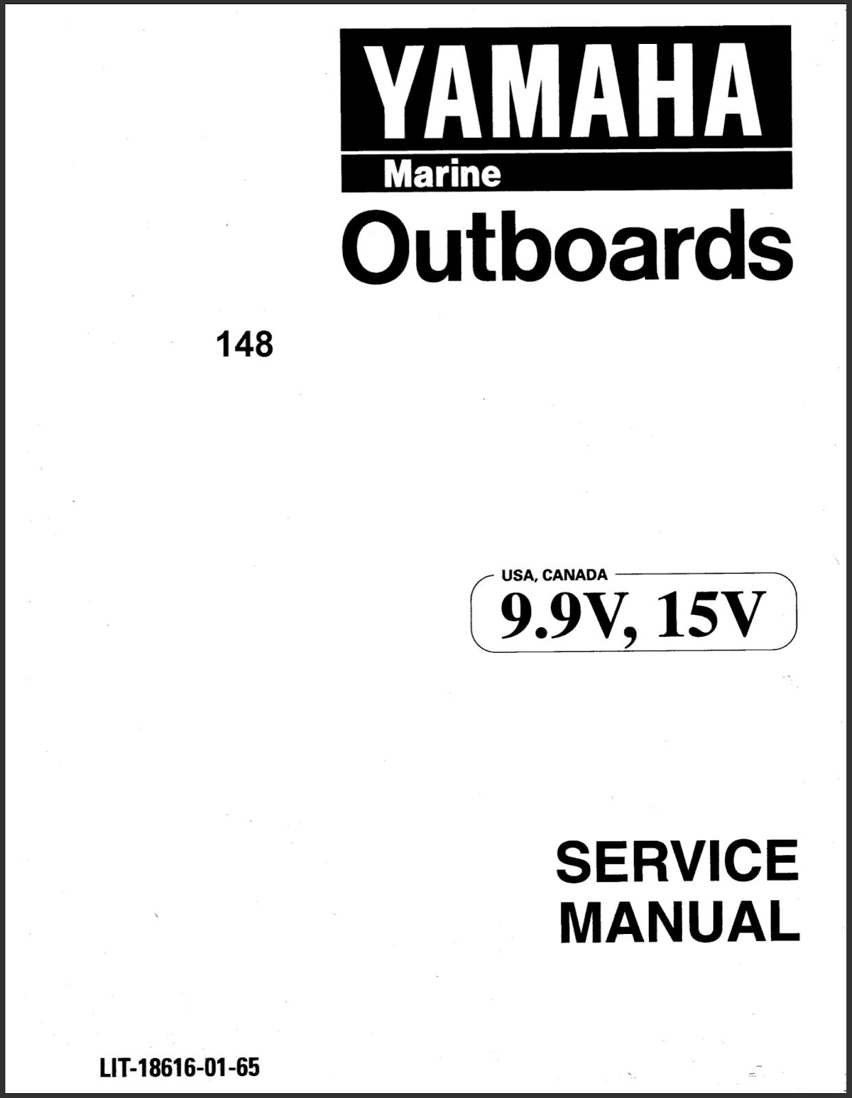 Yamaha Outboard Service Manual