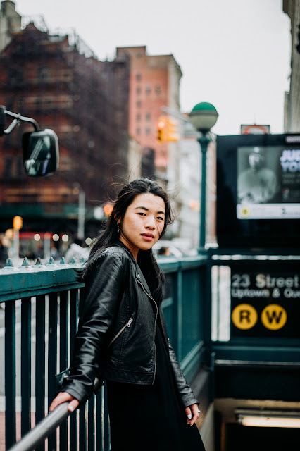 New York Street Style - Thuy Phamova - Bridge of Memories
