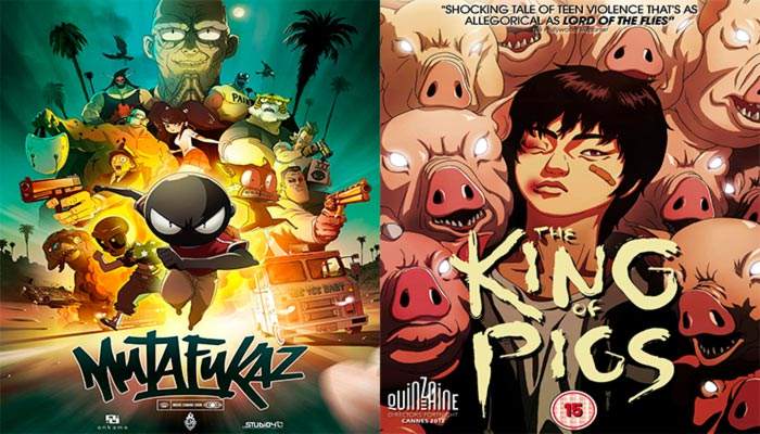 Mediatres Estudio anime 2019: Mutafukaz y The King of Pigs