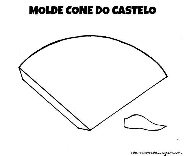 molde castelo
