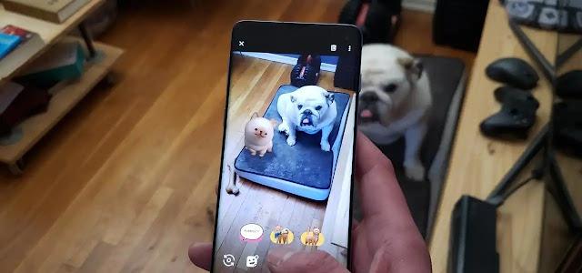 حيوانات ثلاثية الابعاد على هاتفك