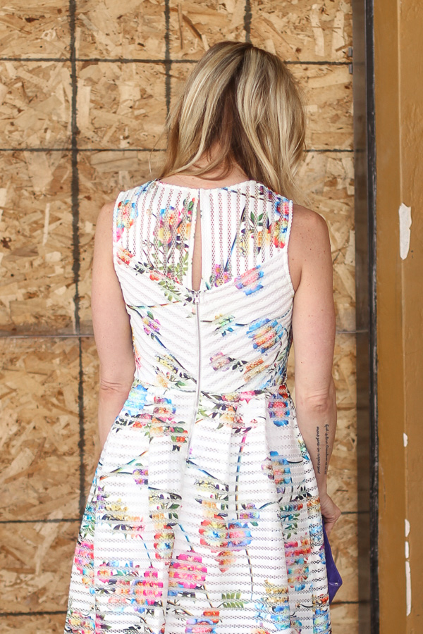 perfect spring dress floral print