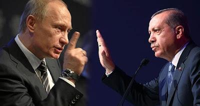 وجه الأحداث في سوريا وشهر العسل التركي - الروسي