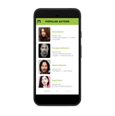 The Movie Data Base Ionic Android Application - 6