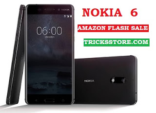 NOKIA 6 new phone amazon flash sale august