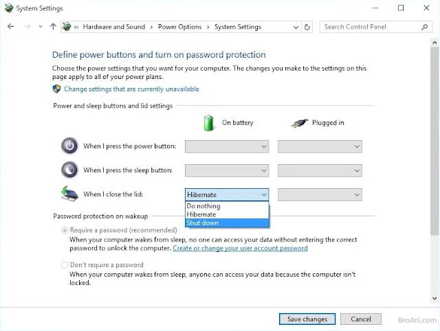 Cara Agar Laptop Tetap Menyala Saat Ditutup