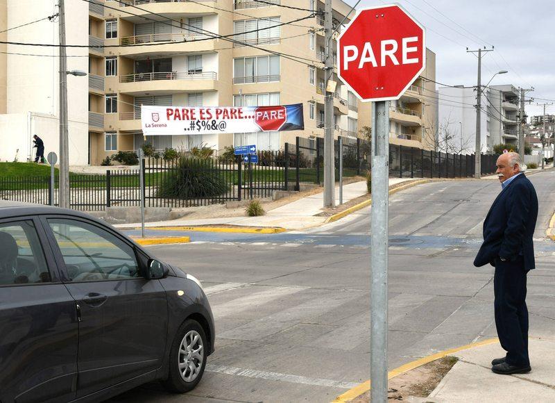 Los nuevos mensajes irónicos que instalarán en La Serena para respetar las leyes del tránsito