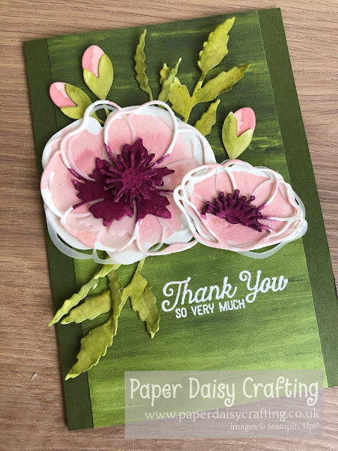 Poppy Moments Stampin' Up!