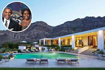 Look at the Palm Springs Home Where the Obamas are Vacationing Right Now