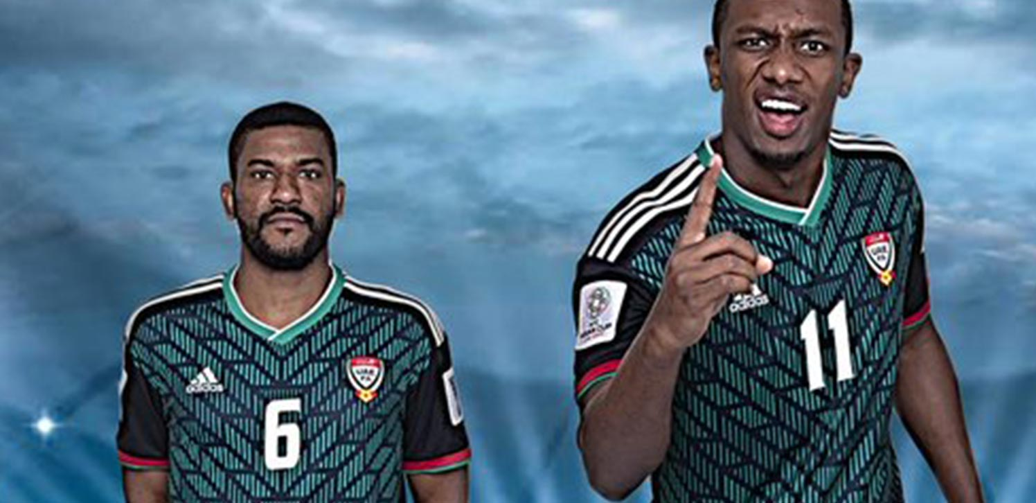 181dae311 Adidas again makes the UAE national team jerseys. NEW  Footy Headlines Club  - Join Now! No AdsExclusive ContentCustomize Content MixExclusive Vouchers
