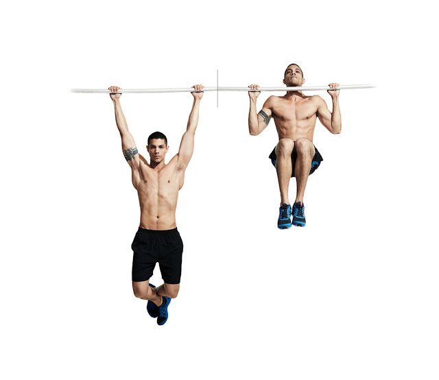 Pullup to Knee Raise