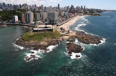 Foto Gov Ba - Flickr  -Wikimedia - Matéria Farol da Barra- BLOG LUGARES DE MEMÓRIA