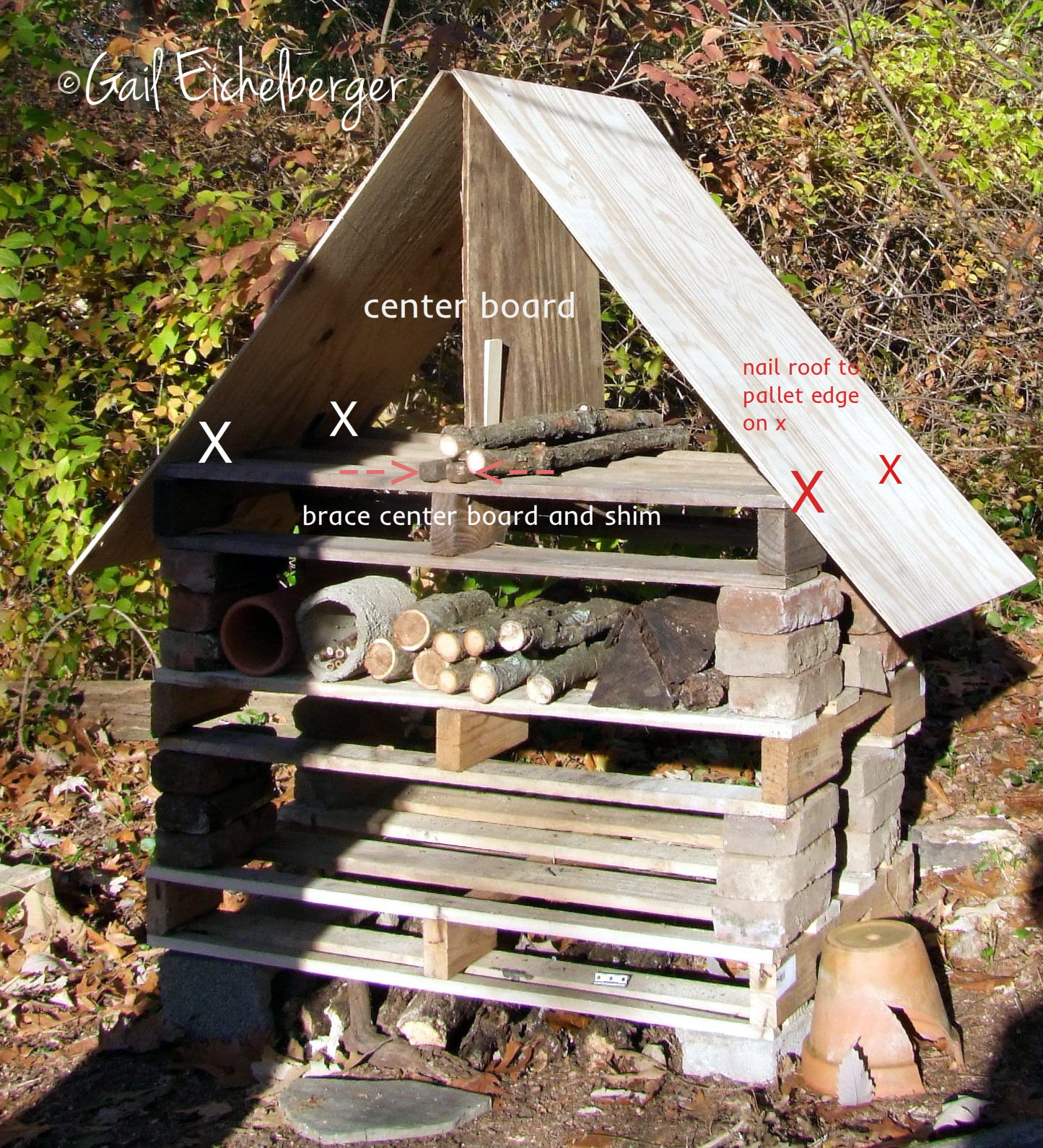 Clay And Limestone The Pollinator Condo How To