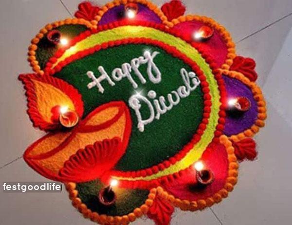 दिवाली  के लिए रंगोली डिज़ाइन  diwali rangoli photo