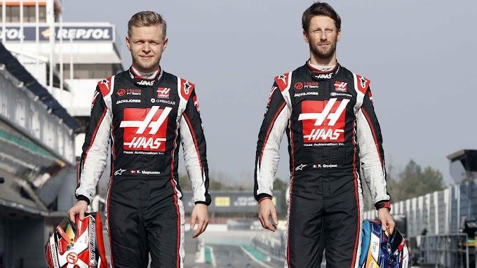 Grosjean i Magnussen odchodzą z zespołu Haas z końcem sezonu