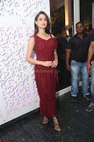 Pragya Jaiswal in Stunnign Deep neck Designer Maroon Dress at Nakshatram music launch ~ CelebesNext Celebrities Galleries 087.JPG