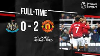 Newcastle United vs Manchester United 2-0 Full Highlights