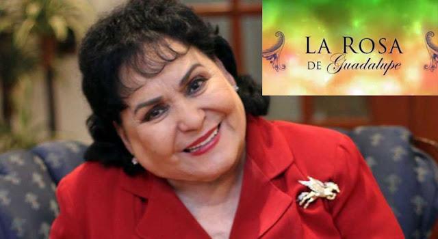 La Rosa de Guadalupe ayuda a mejorar la vida de mexicanos: Carmen Salinas
