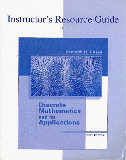 Discrete Mathematics and Its Applications Solution Manual 5th Edition By Kennenth H.Rosen