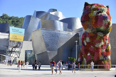 Exteriores del Guggenheim de Bilbao