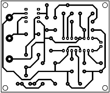 Printed-Circuit-Infrared-Interface-(Receiver-Circuit)