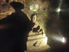 岩屋・弘法大師像